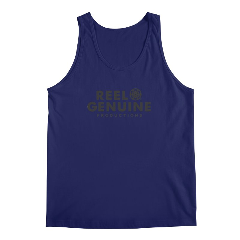 Reel Genuine Productions Logo Men's Tank by reelgenuine's Artist Shop