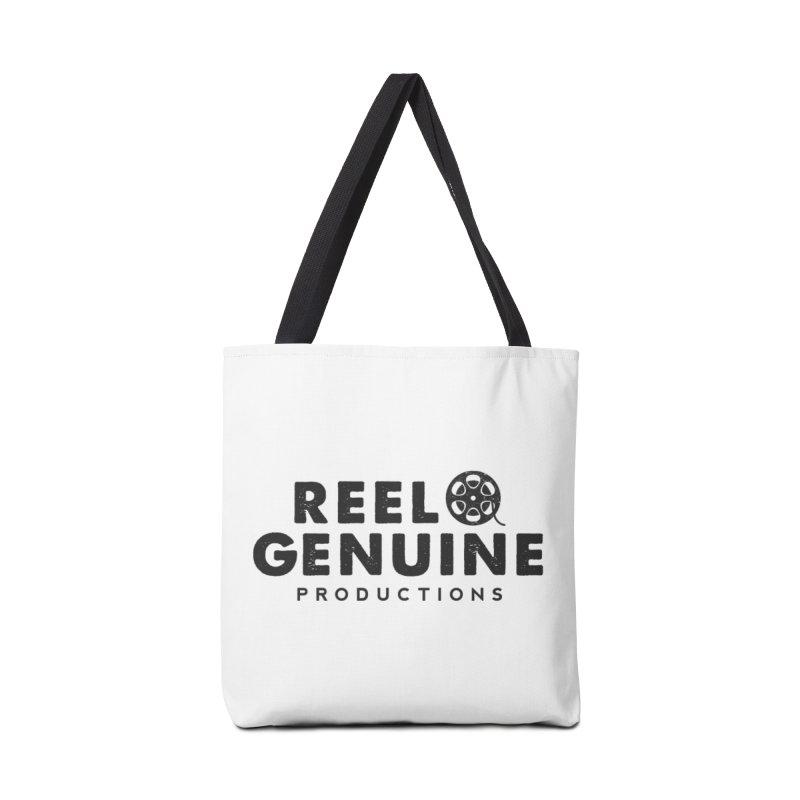 Reel Genuine Productions Logo Accessories Tote Bag Bag by reelgenuine's Artist Shop
