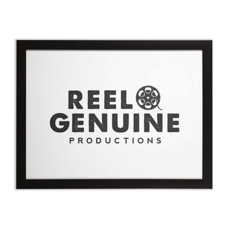 Reel Genuine Productions Logo   by reelgenuine's Artist Shop