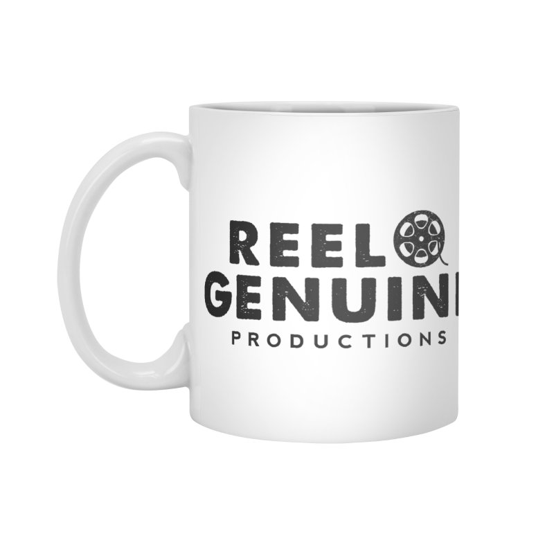 Reel Genuine Productions Logo Accessories Mug by reelgenuine's Artist Shop