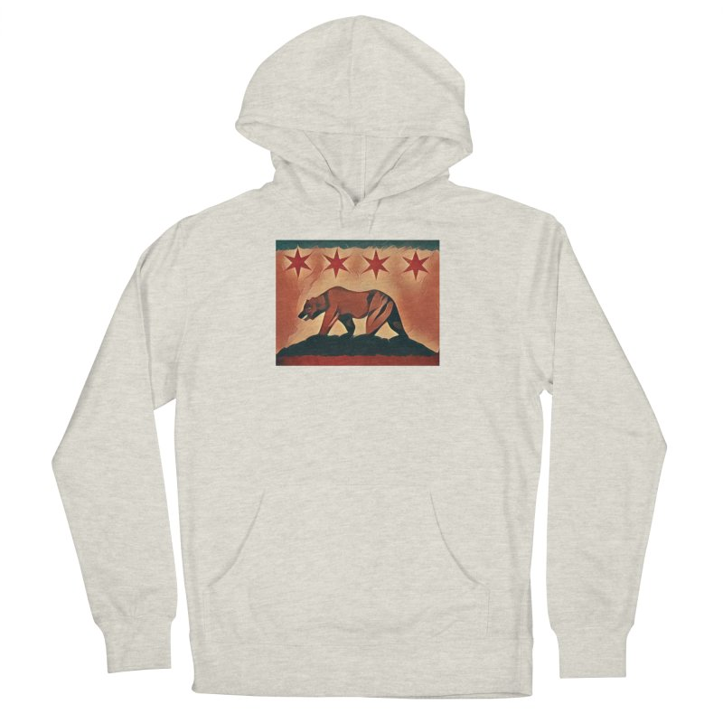 Windy City Golden State Men's French Terry Pullover Hoody by reelgenuine's Artist Shop