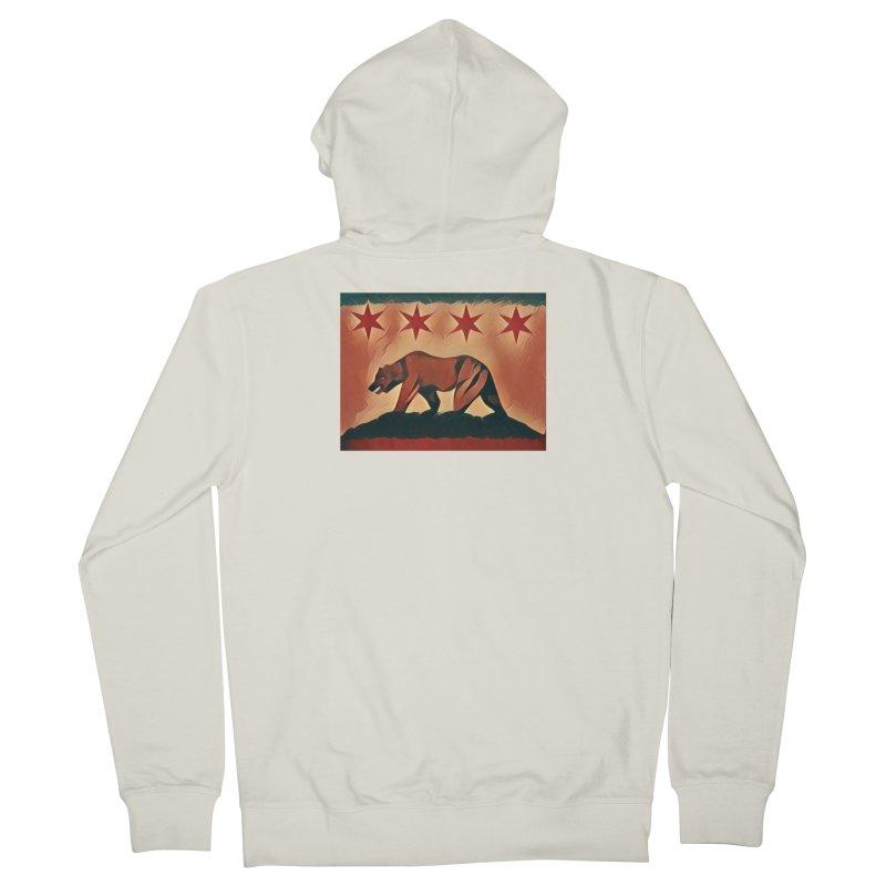 Windy City Golden State Men's Zip-Up Hoody by reelgenuine's Artist Shop