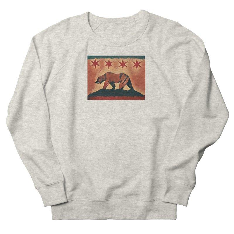 Windy City Golden State Men's French Terry Sweatshirt by reelgenuine's Artist Shop