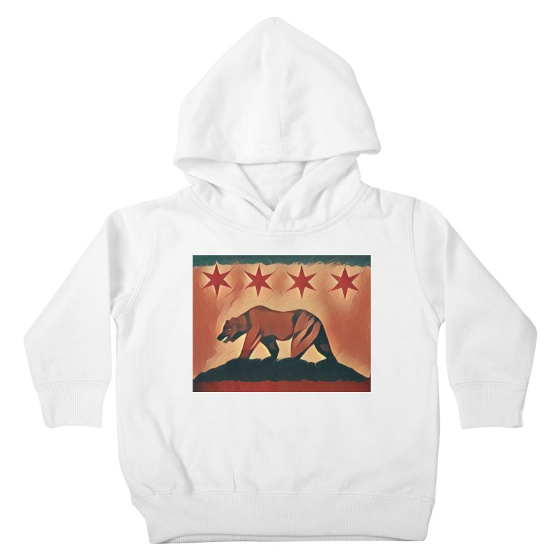 Windy City Golden State Kids Toddler Pullover Hoody by reelgenuine's Artist Shop