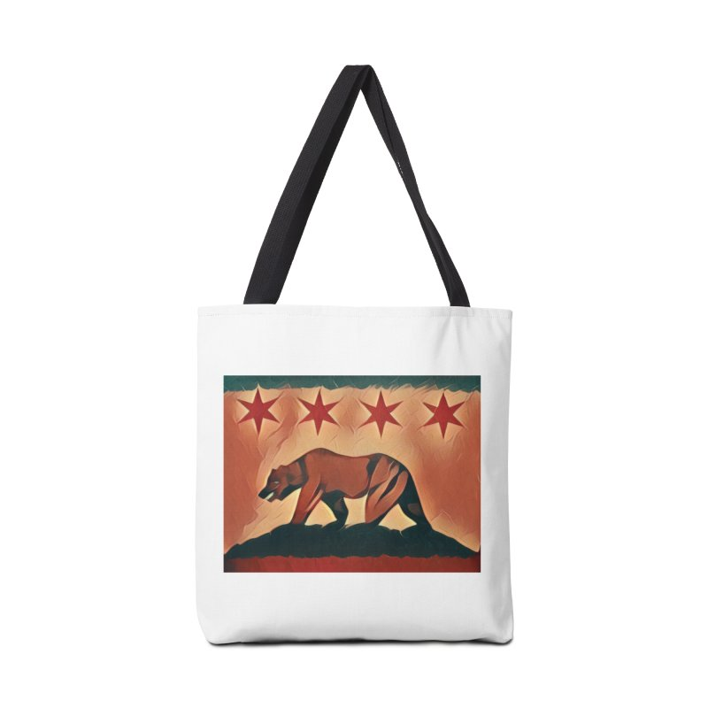 Windy City Golden State Accessories Tote Bag Bag by reelgenuine's Artist Shop