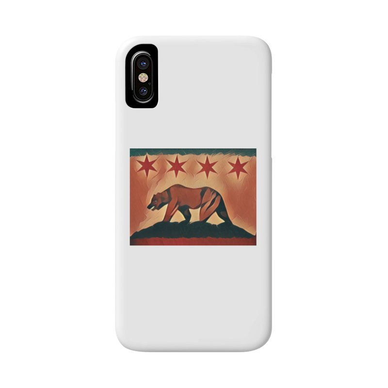 Windy City Golden State Accessories Phone Case by reelgenuine's Artist Shop