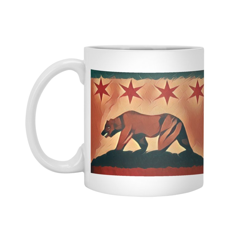 Windy City Golden State Accessories Mug by reelgenuine's Artist Shop