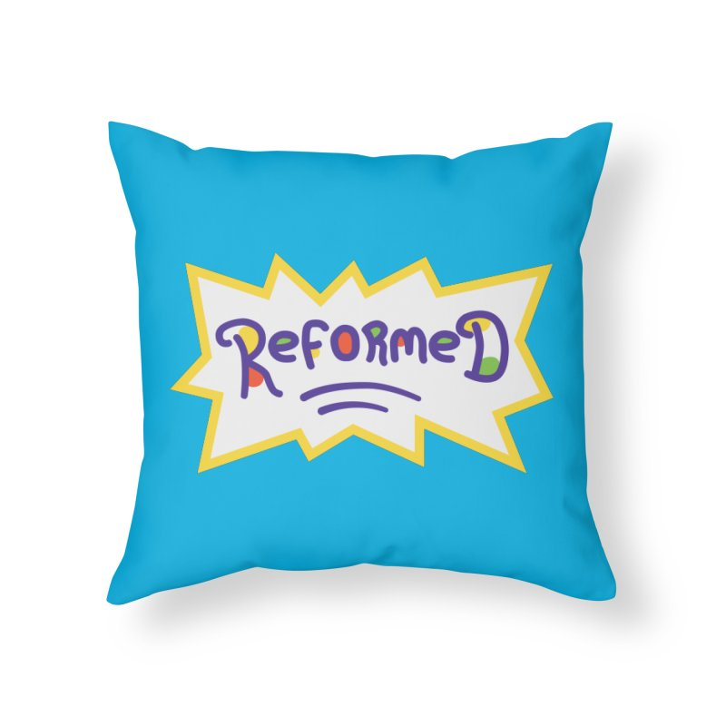 ReformedRats 2000 Home Throw Pillow by Reformed Christian Goods & Clothing