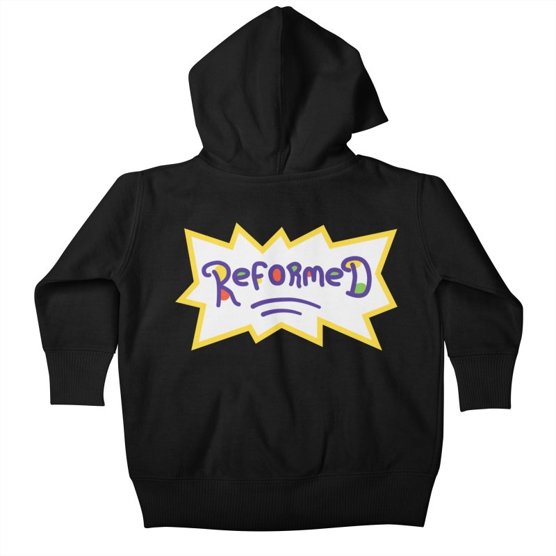 ReformedRats 2000 Kids Baby Zip-Up Hoody by Reformed Christian Goods & Clothing