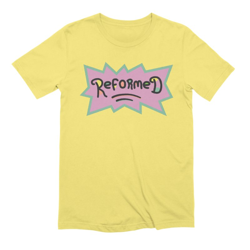 ReformedRats 1990 Men's Extra Soft T-Shirt by Reformed Christian Goods & Clothing