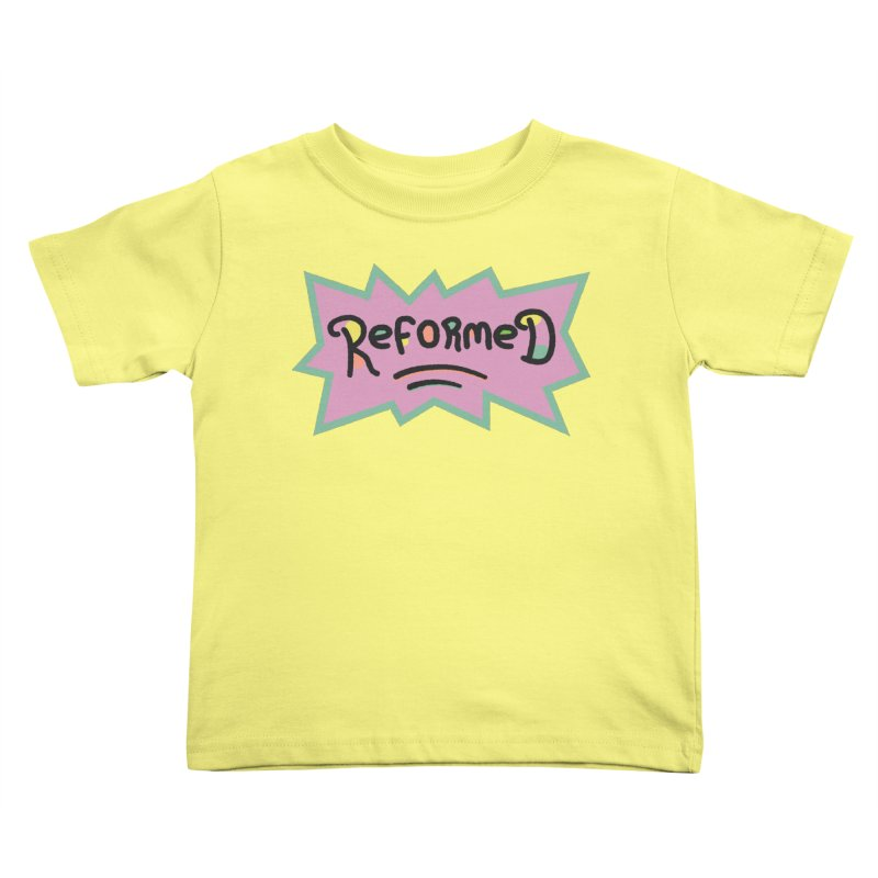 ReformedRats 1990 Kids Toddler T-Shirt by Reformed Christian Goods & Clothing