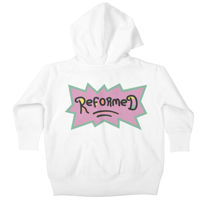ReformedRats 1990 Kids Baby Zip-Up Hoody by Reformed Christian Goods & Clothing