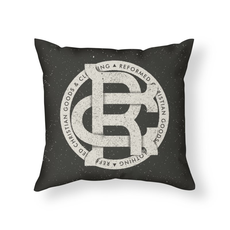 Reformed Christian Goods & Clothing Home Throw Pillow by Reformed Christian Goods & Clothing