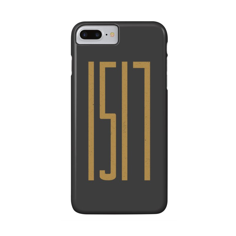 1517 in iPhone 8 Plus Phone Case Slim by A Worthy Manner Goods & Clothing