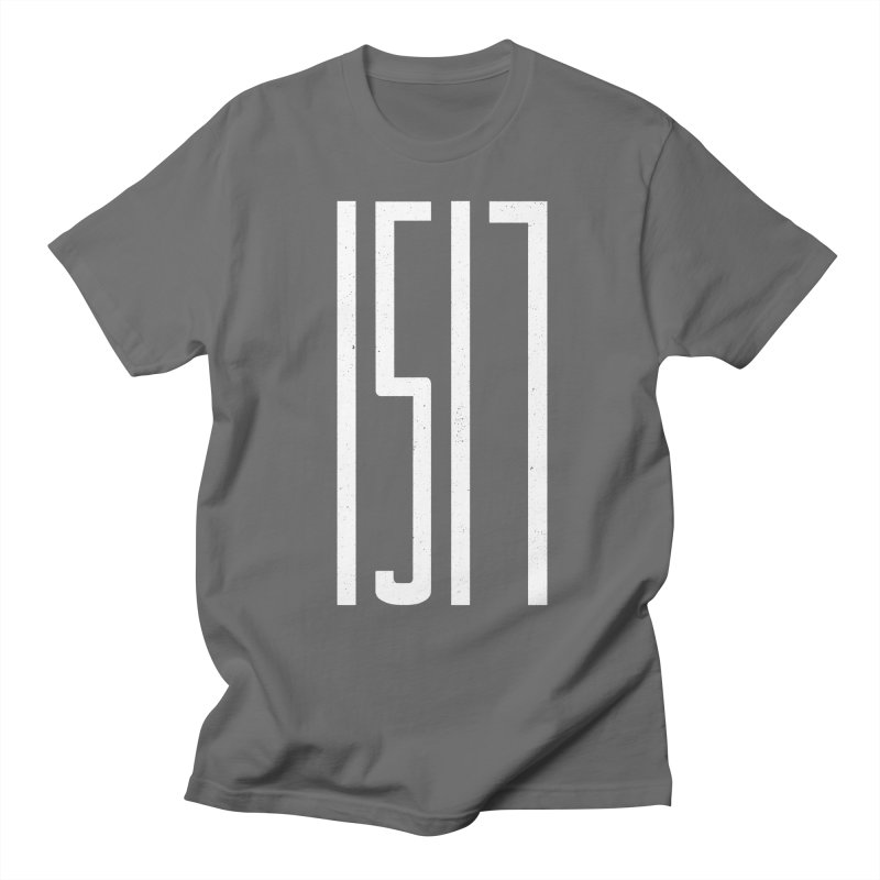 1517 | White Men's T-Shirt by A Worthy Manner Goods & Clothing