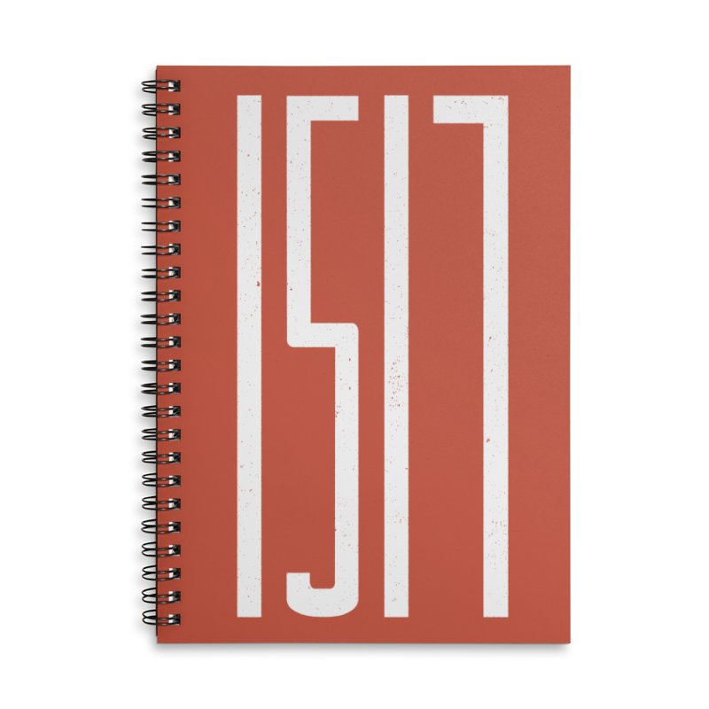 1517 (white) Accessories Notebook by Reformed Christian Goods & Clothing