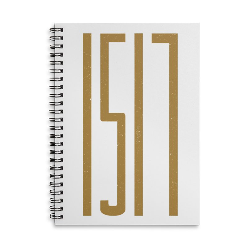 1517 (alternate color) in Lined Spiral Notebook by Reformed Christian Goods & Clothing