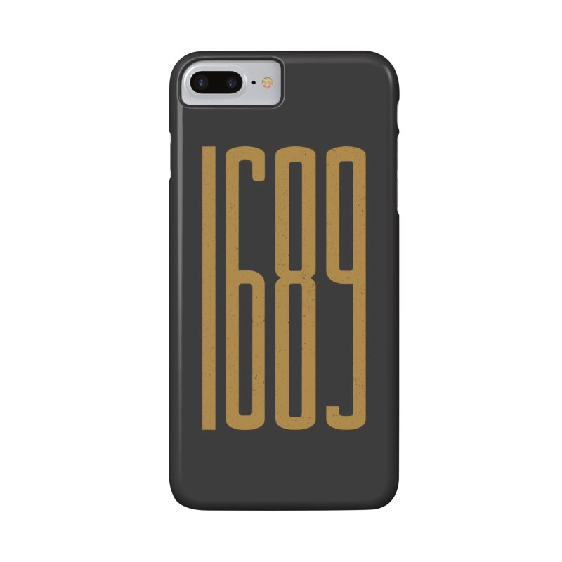 1689 in iPhone 7 Plus Phone Case Slim by Reformed Christian Goods & Clothing