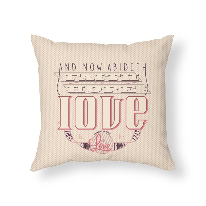 Faith Hope and Love | 1 Corinthians 13:13 (feminine colors)   by Reformed Christian Goods & Clothing