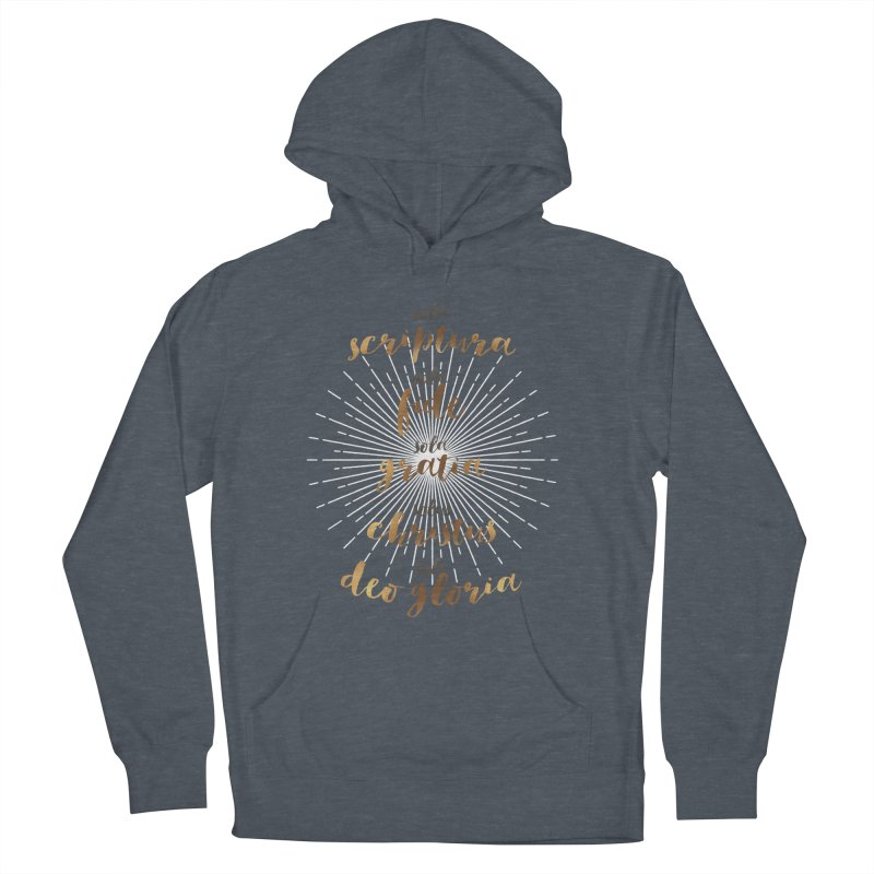 The Five Solas of the Reformation Women's Pullover Hoody by Reformed Christian Goods & Clothing