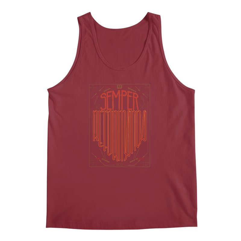 Semper Reformanda: Celebrating the 500th Anniversary of the Protestant Reformation Men's Tank by Reformed Christian Goods & Clothing
