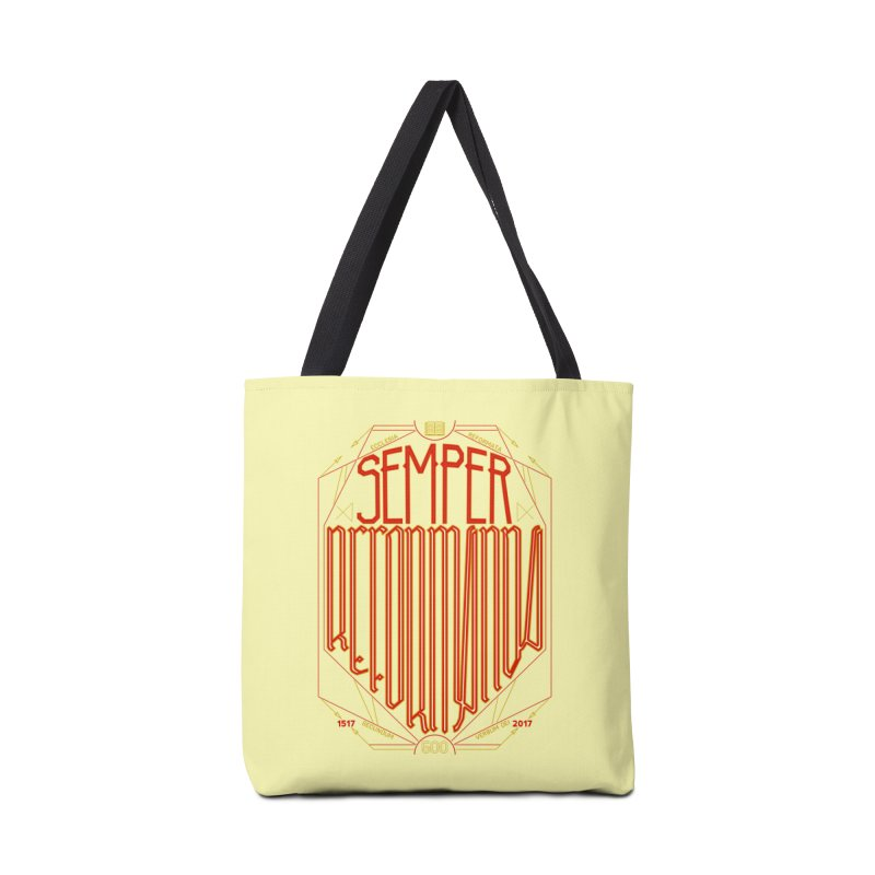 Semper Reformanda: Celebrating the 500th Anniversary of the Protestant Reformation Accessories Bag by Reformed Christian Goods & Clothing