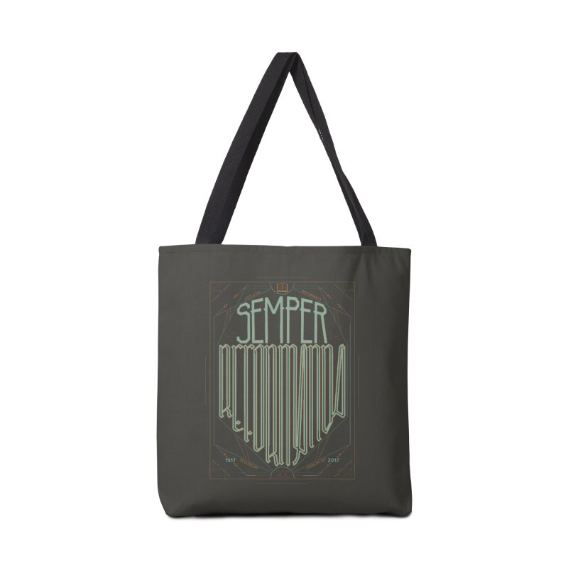 Semper Reformanda: Celebrating the 500th Anniversary of the Protestant Reformation (alt color) Accessories Bag by Reformed Christian Goods & Clothing