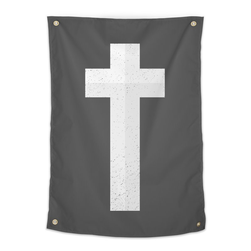 The Cross (white) Home Tapestry by Reformed Christian Goods & Clothing