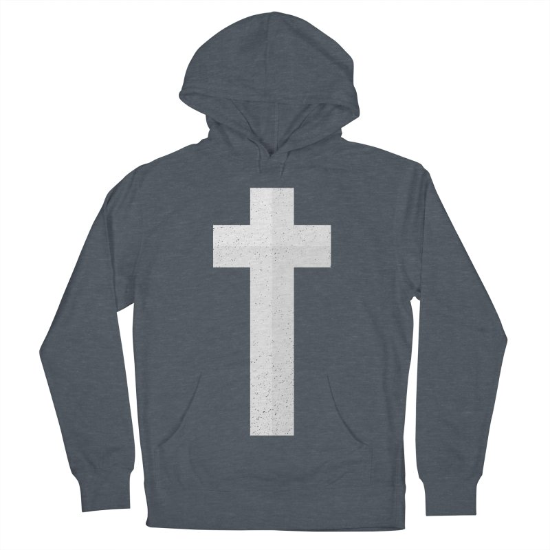 The Cross (white) Women's Pullover Hoody by Reformed Christian Goods & Clothing