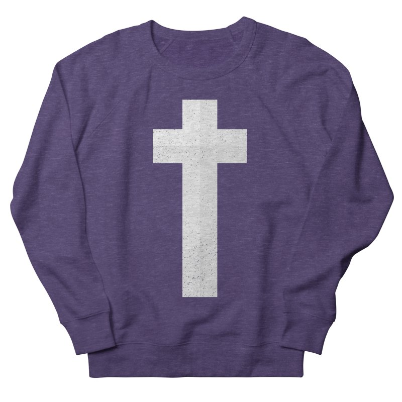 The Cross (white) Women's Sweatshirt by Reformed Christian Goods & Clothing