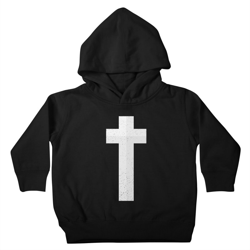 The Cross (white) Kids Toddler Pullover Hoody by Reformed Christian Goods & Clothing