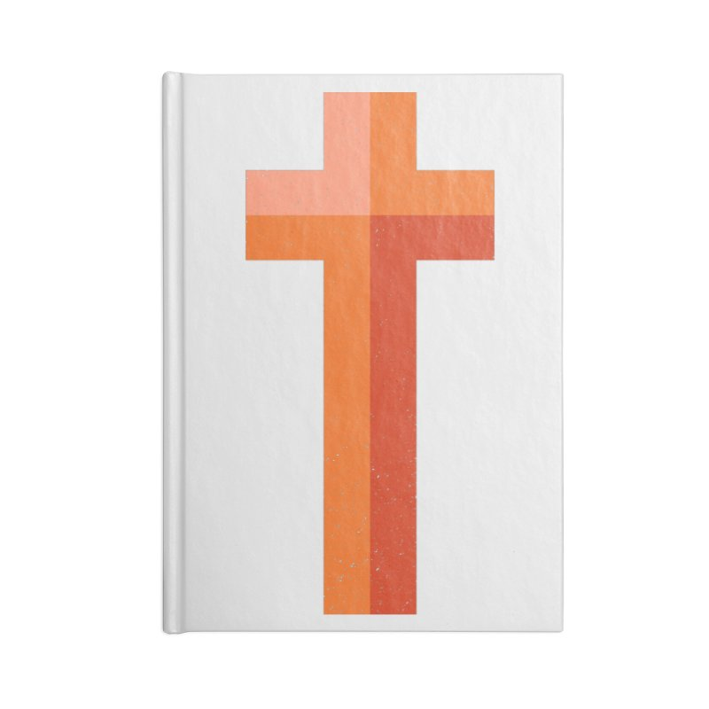 The Cross (red) Accessories Notebook by Reformed Christian Goods & Clothing