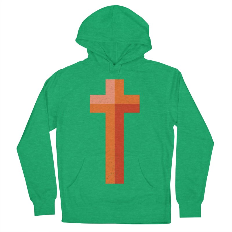 The Cross (red) Women's Pullover Hoody by Reformed Christian Goods & Clothing