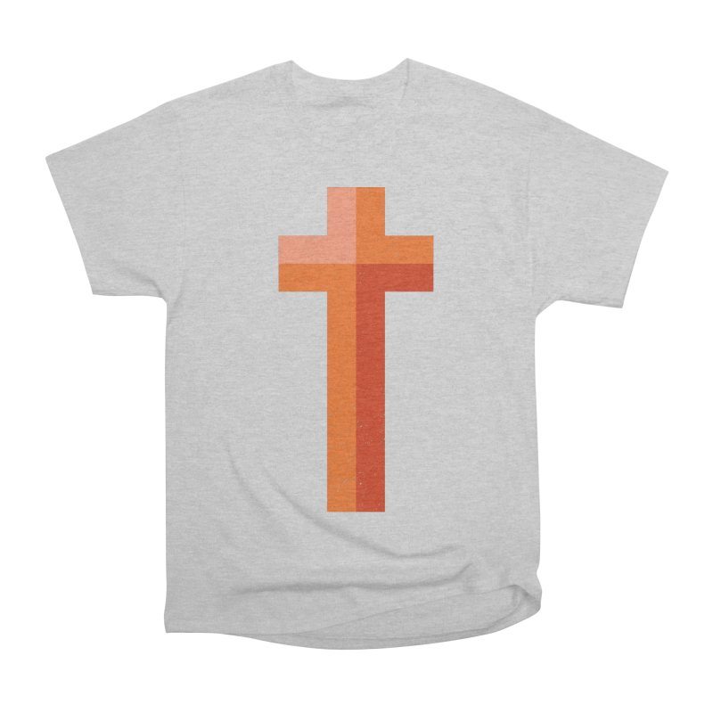The Cross (red) Men's Classic T-Shirt by Reformed Christian Goods & Clothing