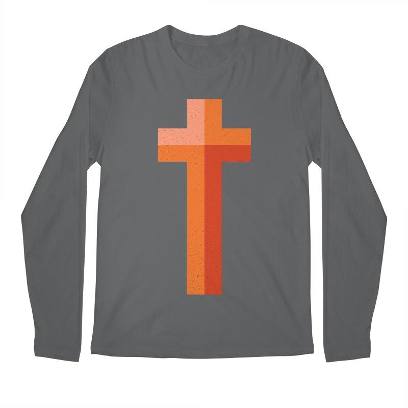 The Cross (red) Men's Longsleeve T-Shirt by Reformed Christian Goods & Clothing