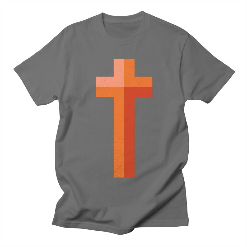 The Cross (red) Women's Unisex T-Shirt by Reformed Christian Goods & Clothing