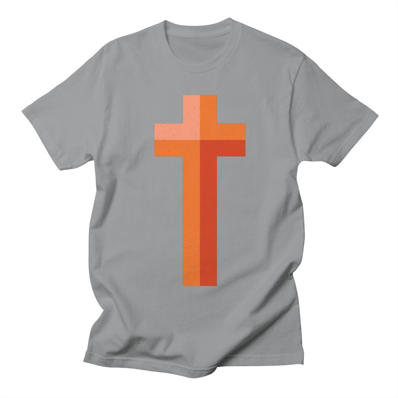 The Cross (red) Women's Regular Unisex T-Shirt by Reformed Christian Goods & Clothing