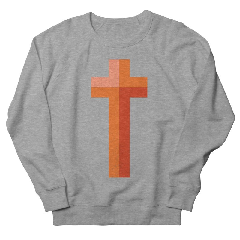 The Cross (red) Women's Sweatshirt by Reformed Christian Goods & Clothing