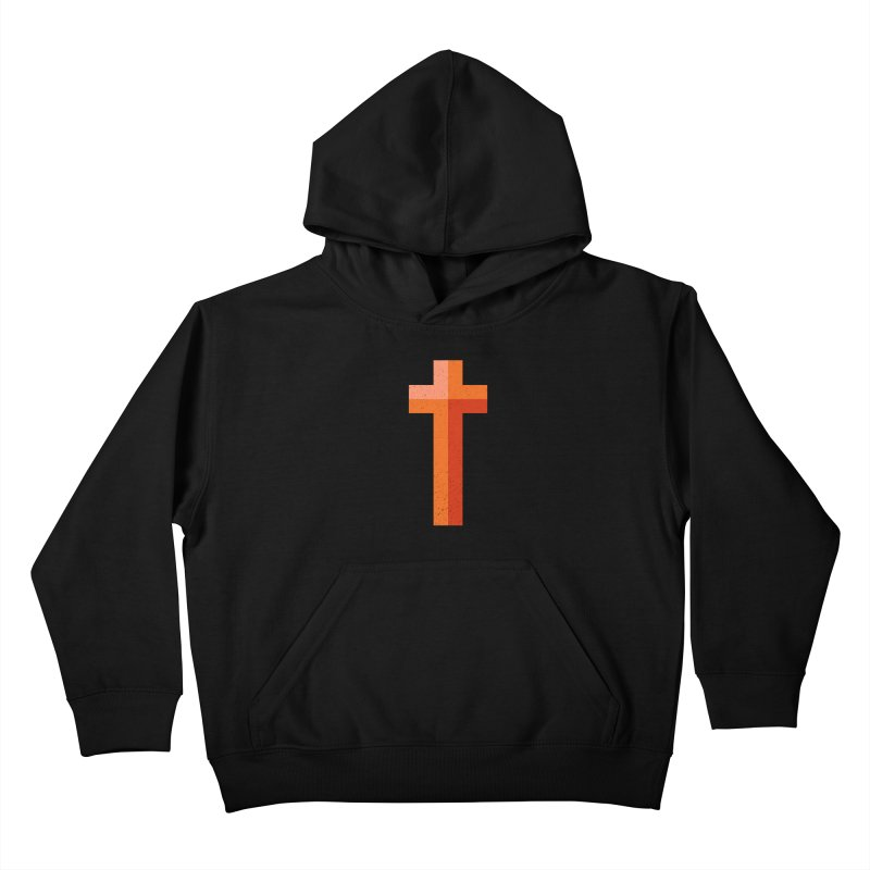 The Cross (red) Kids Pullover Hoody by Reformed Christian Goods & Clothing