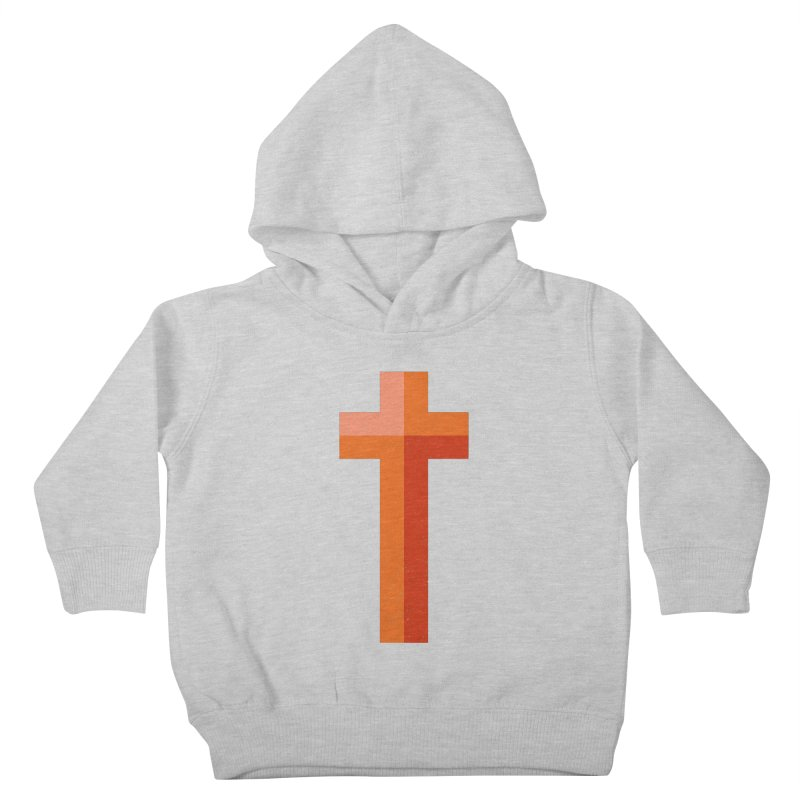 The Cross (red) Kids Toddler Pullover Hoody by Reformed Christian Goods & Clothing