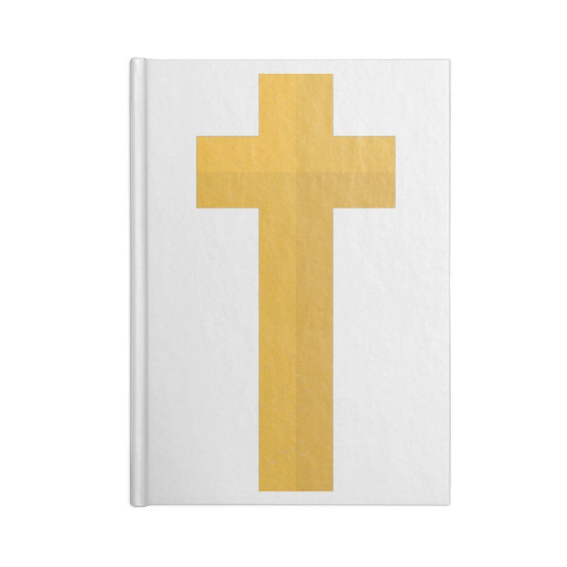 The Cross (gold) Accessories Notebook by Reformed Christian Goods & Clothing