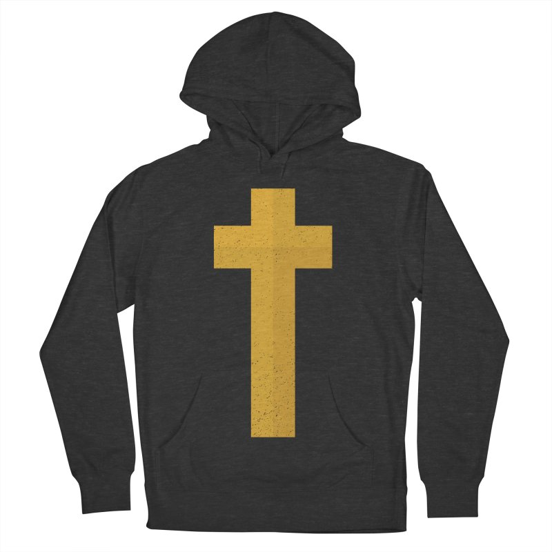 The Cross (gold) Women's Pullover Hoody by Reformed Christian Goods & Clothing