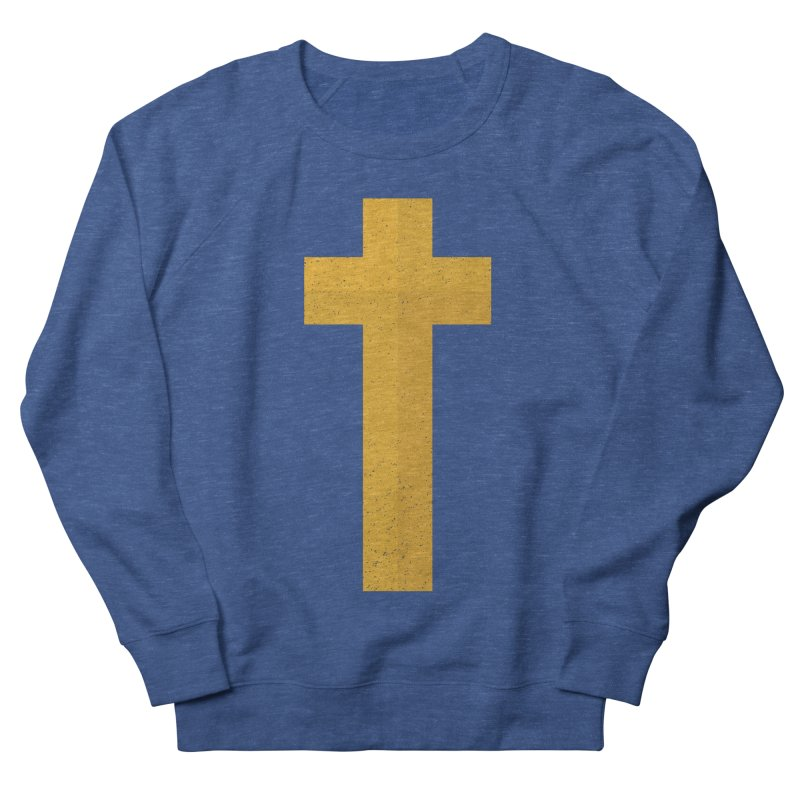 The Cross (gold) Women's Sweatshirt by Reformed Christian Goods & Clothing