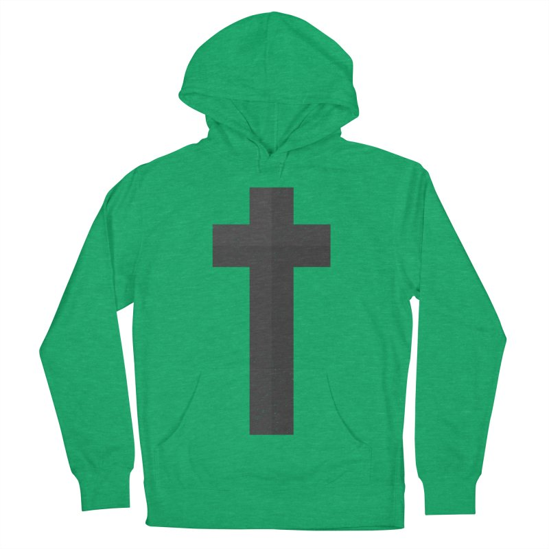 The Cross (black) Women's Pullover Hoody by Reformed Christian Goods & Clothing
