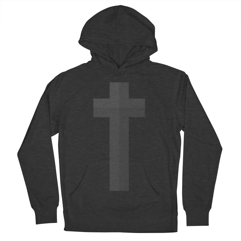 The Cross (black) Men's Pullover Hoody by Reformed Christian Goods & Clothing