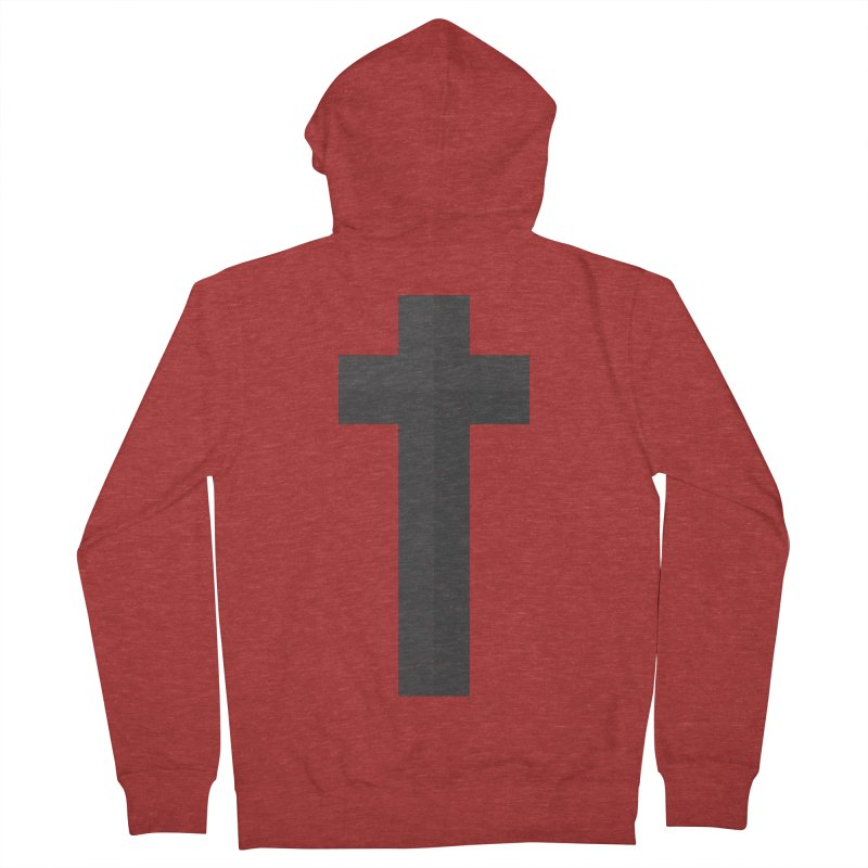 The Cross (black) Women's Zip-Up Hoody by Reformed Christian Goods & Clothing