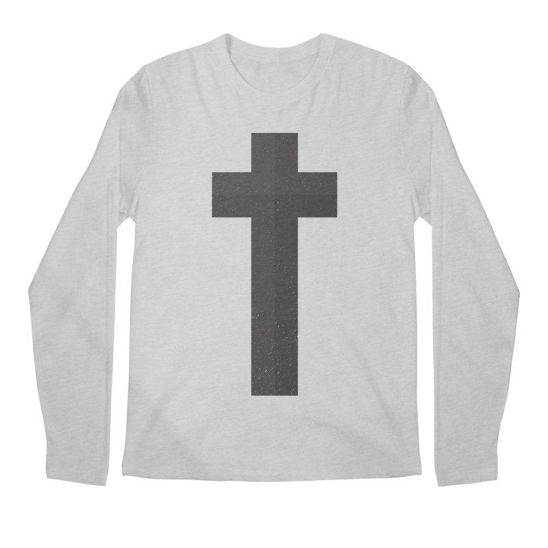 The Cross (black) Men's Longsleeve T-Shirt by Reformed Christian Goods & Clothing