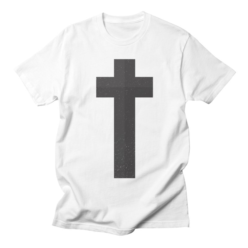 The Cross (black) Men's T-shirt by Reformed Christian Goods & Clothing