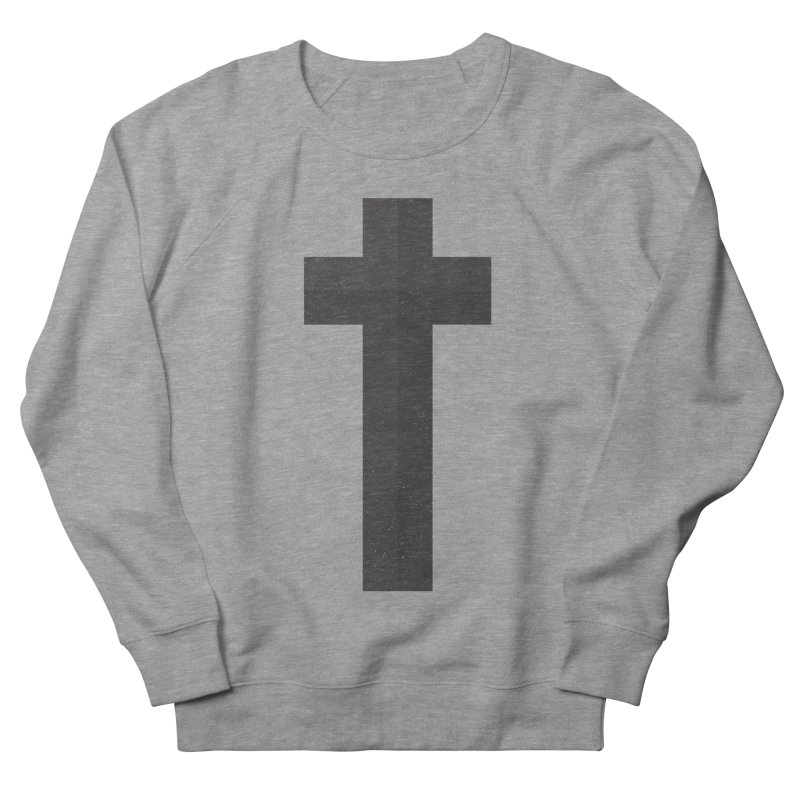 The Cross (black) Men's Sweatshirt by Reformed Christian Goods & Clothing