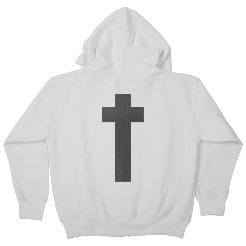 The Cross (black) Kids Zip-Up Hoody by Reformed Christian Goods & Clothing